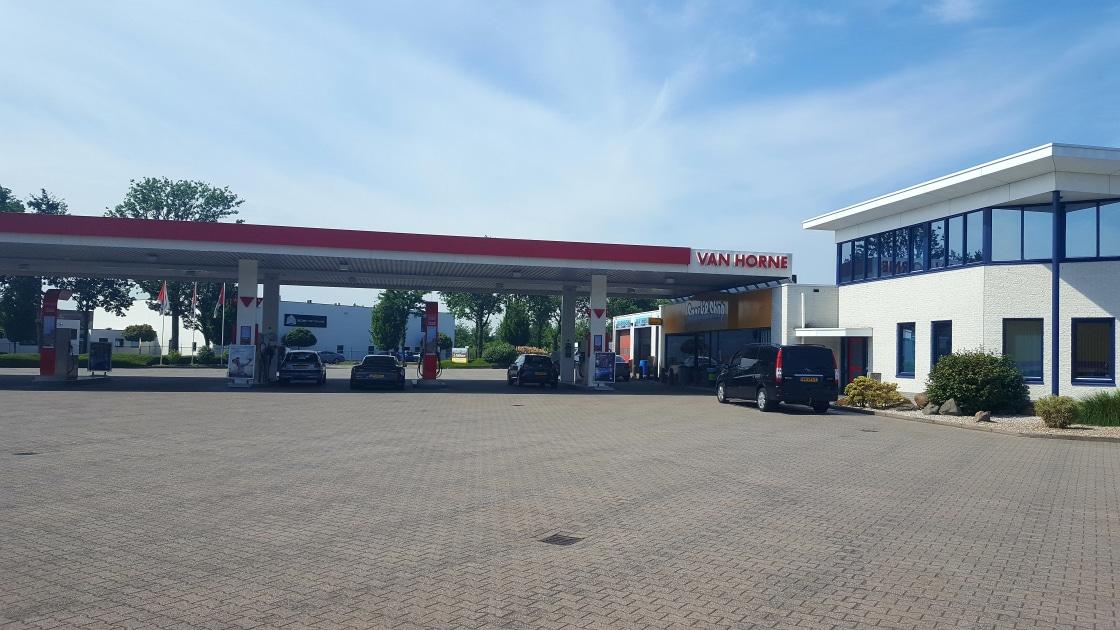 van horne brandstroffen tankstation